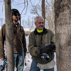Greg and Scott tapping.jpg