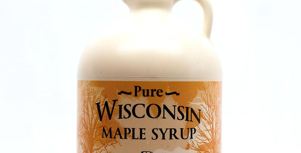 Pure Maple Syrup: 1/2 Gallon (64oz) Plastic Container