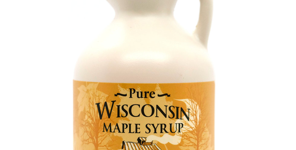 Pure Maple Syrup: 1 Pint (16oz) Plastic Container