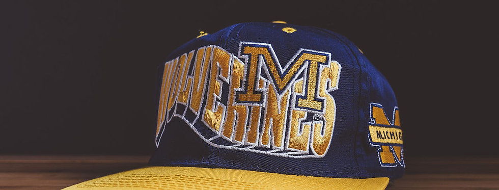 Michigan Wolverines Graphic Snapback