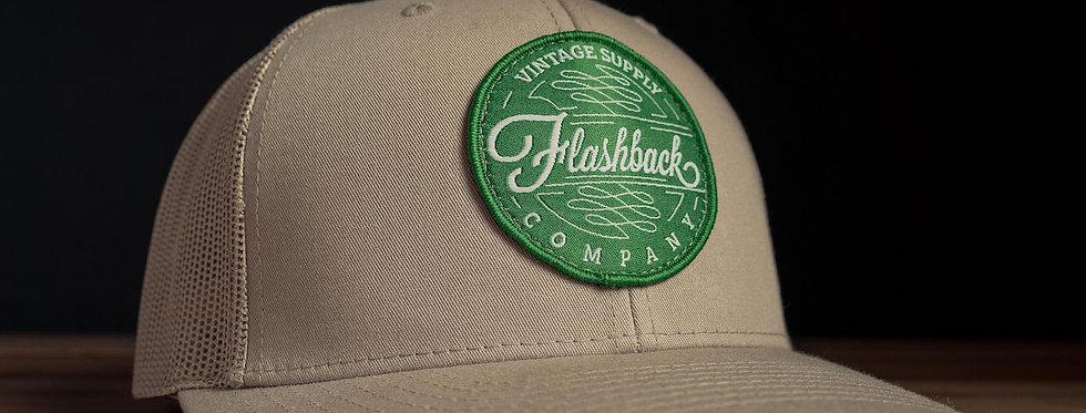Flashback Rack Khaki Trucker Hat