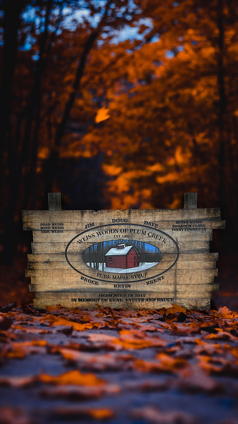 Weiss Woods Sign in Leaves.png