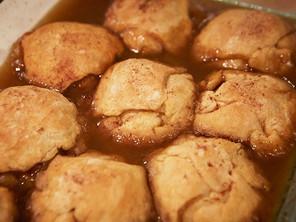Baked Maple Dumplings