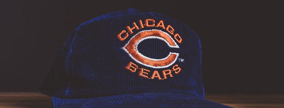 Chicago Bears Corduroy Snapback