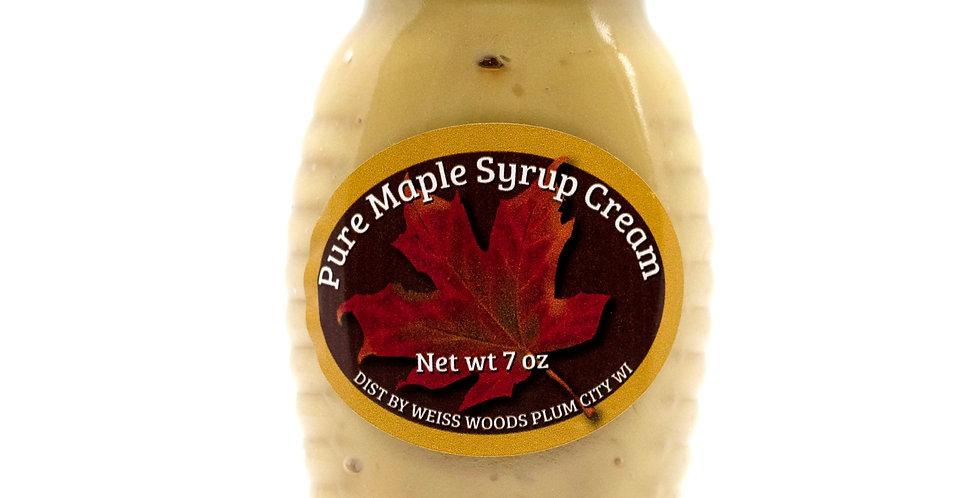 Pure Maple Syrup Cream: 7oz