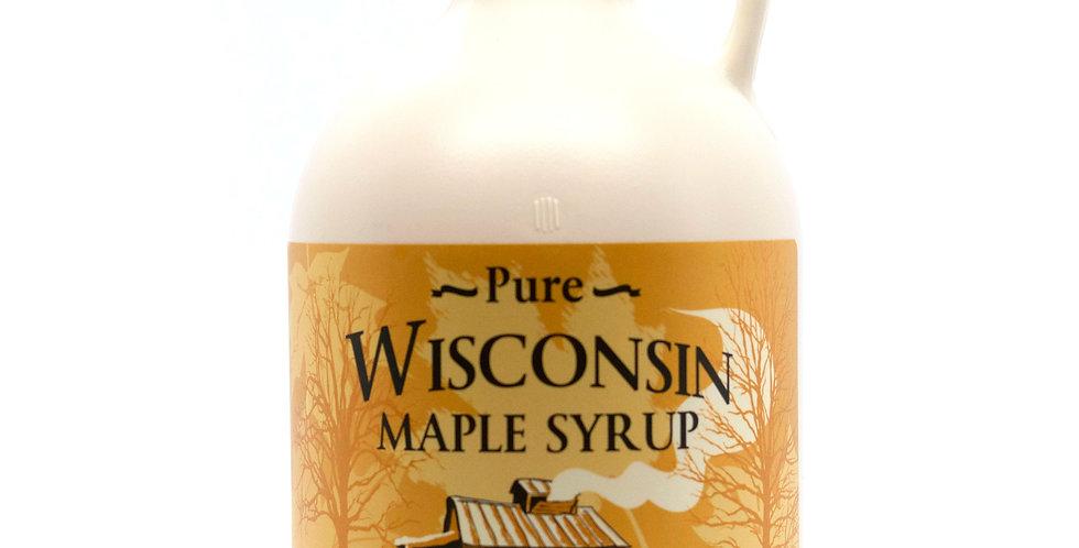 Pure Maple Syrup: 1 Quart (32oz) Plastic Container