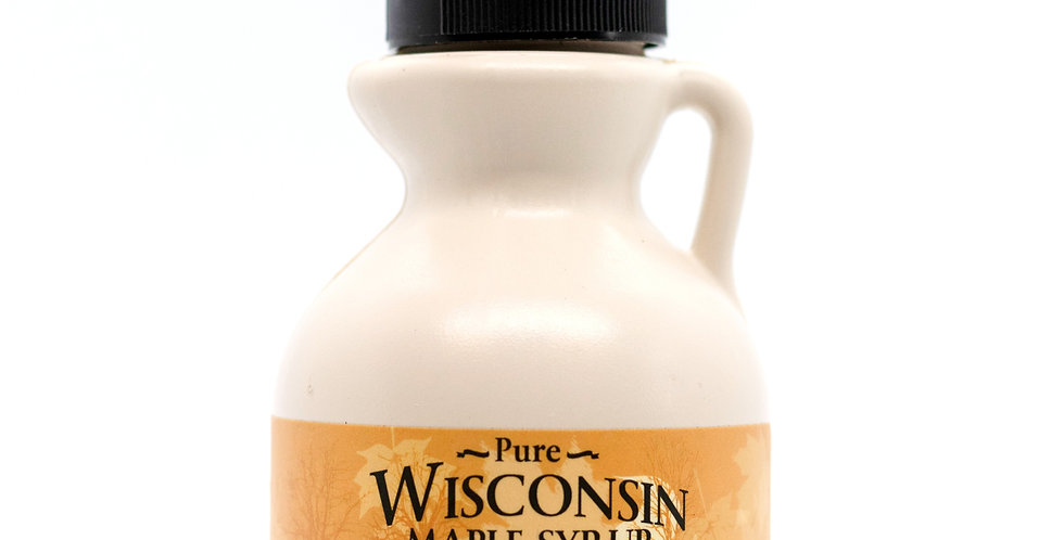 Pure Maple Syrup: 1/2 Pint (8oz) Plastic Container