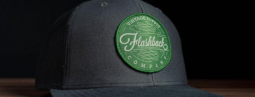 Flashback Rack Gunmetal Trucker Hat