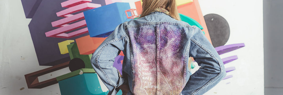 """FBR Denim Jacket """"Galaxy Dreaming"""""""