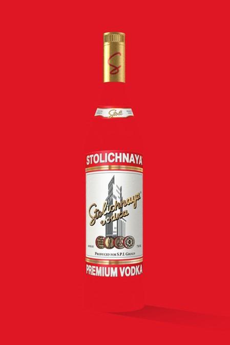 Stoli Vodka Liter