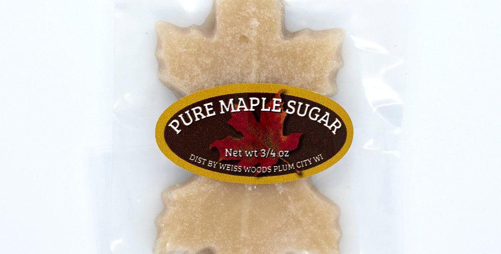 Pure Maple Sugar Leaves: 3/4oz