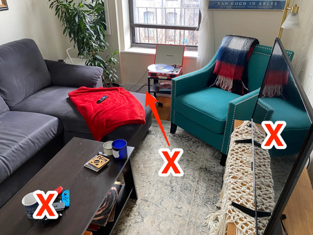 Featured Article: Therapists share 8 things in your living room that could be causing you stress