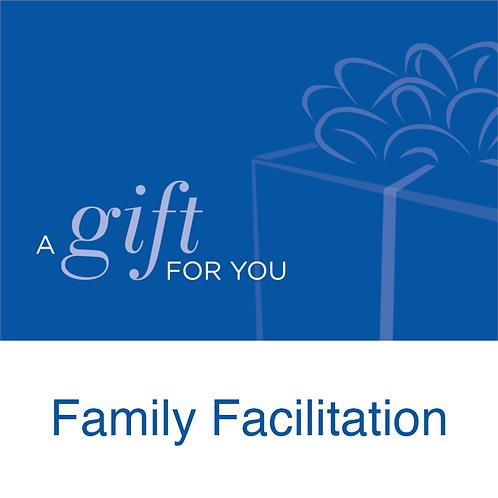 Gift Card: Family Facilitation