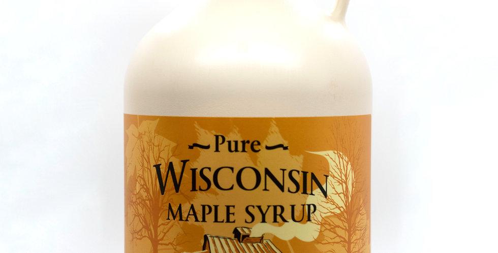 Pure Maple Syrup: 1 Gallon (128oz) Plastic Container