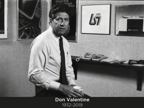 The Silicon Valley/Sand Hill Road legend Don Valentine passes at 87.