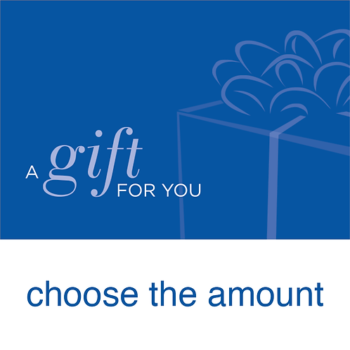 Gift Card: Choose The Amount