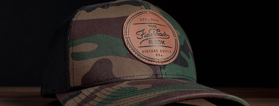 Flashback Rack Camouflage Trucker Hat