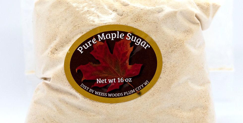 Pure Maple Granulated Sugar: 1lb (16oz) Bag