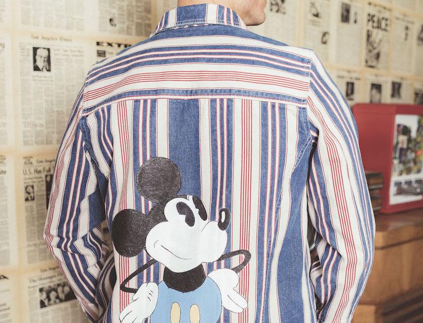 "FBR Denim Jacket "" Mickey Mouse"""