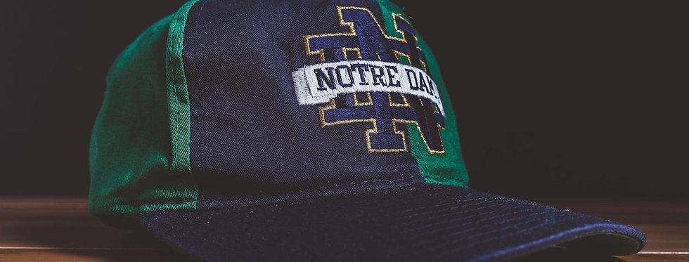 Notre Dame Color Block Snapback