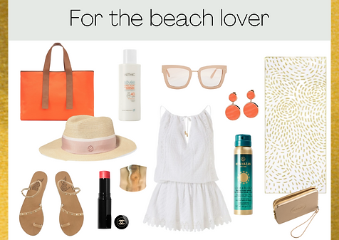 Gift ideas for the beach lover