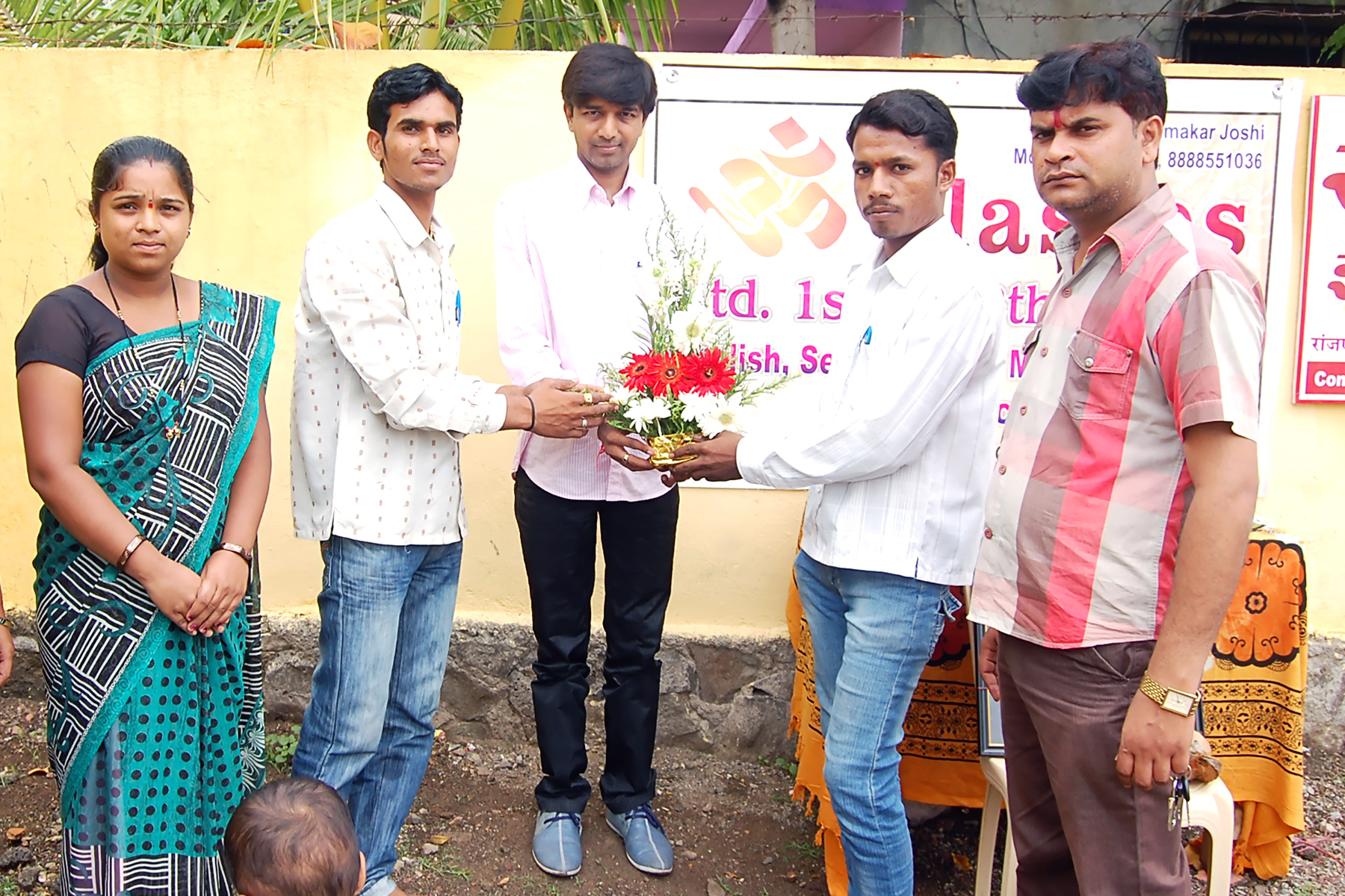 MLA Prashant Bamb Visit