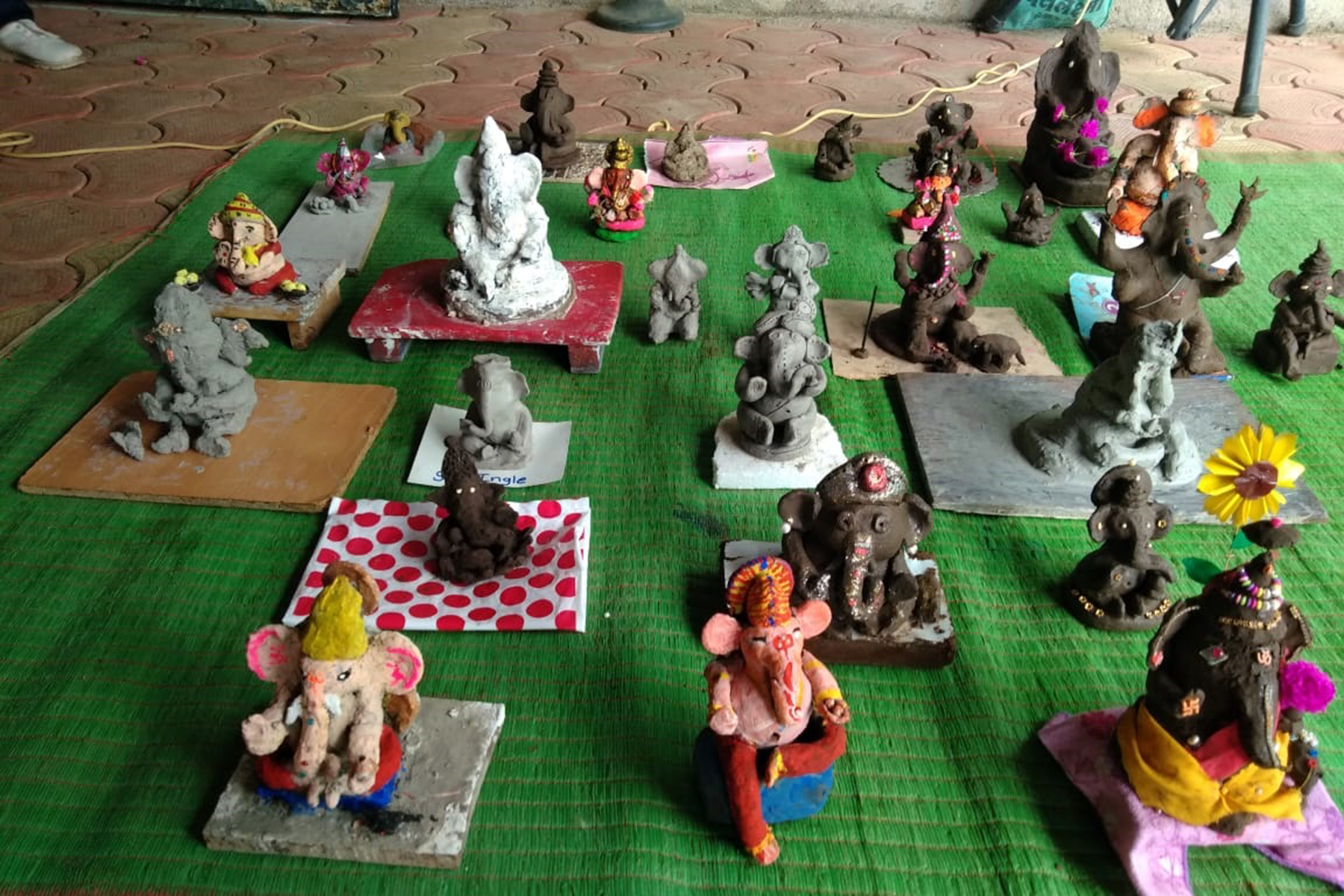 Ganapati Making Competition