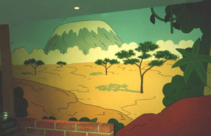 Nursery - Mural by Design
