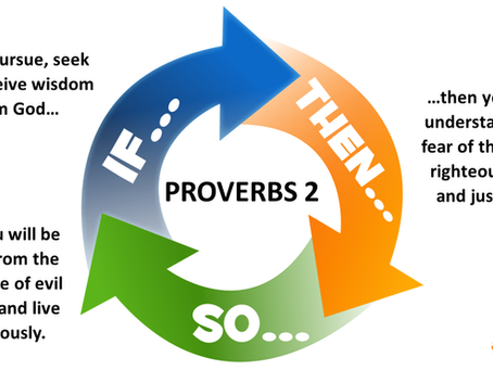 IF... THEN... SO... Proverbs 2