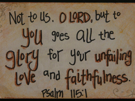 WHAT DO WE WORSHIP - Psalm 115 & Isaiah 44:6-23
