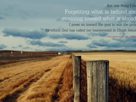 THE PURSUIT OF CHRIST: PRESSING ONWARD & STANDING FIRM - Philippians 3:10-4:1
