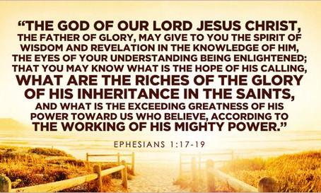 REVELATION - Ephesians 1:7-23