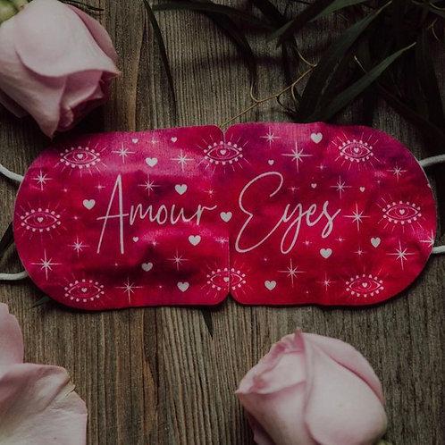 Amour Eyes (Rose) Self-Heating Eye Mask