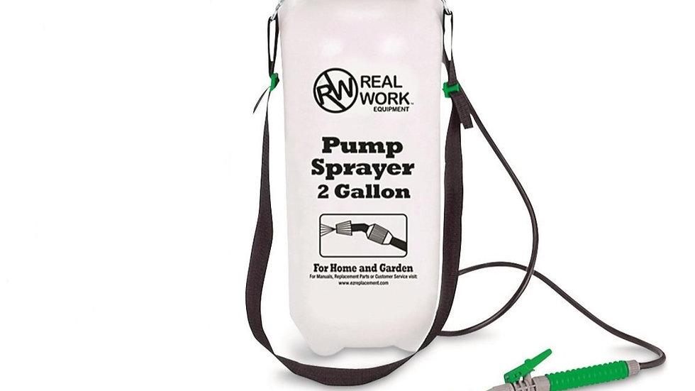 2 gallon Pump Sprayer Zoomed