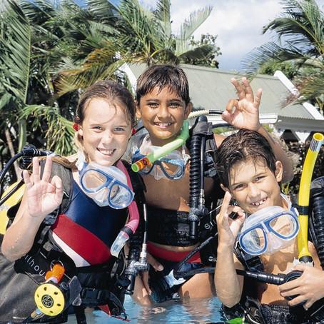 5 questions sur la plongée pour les enfants