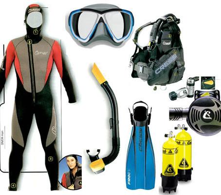 10 objets sans lesquels un professionnel de la plongée ne part jamais !!