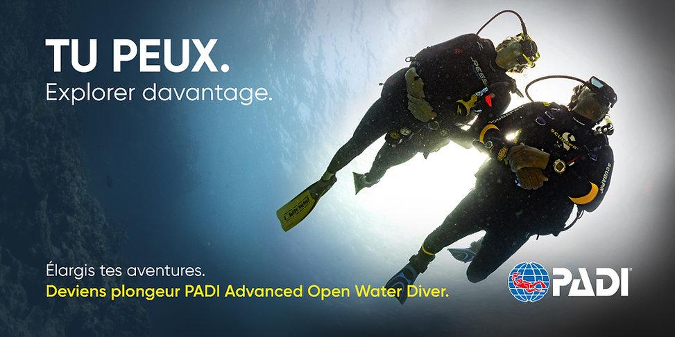 Advanced Open Water | Saphir plongée | France