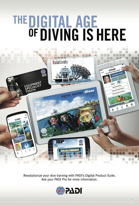padi Touch open water