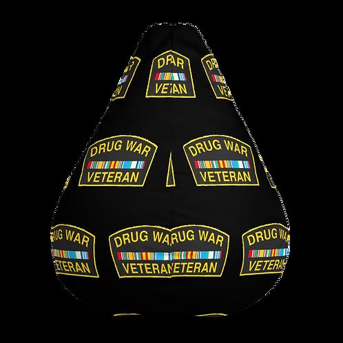 Drug War Veteran Bean Bag Chair w/ filling