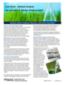 MAS Lawn Materials Case Study