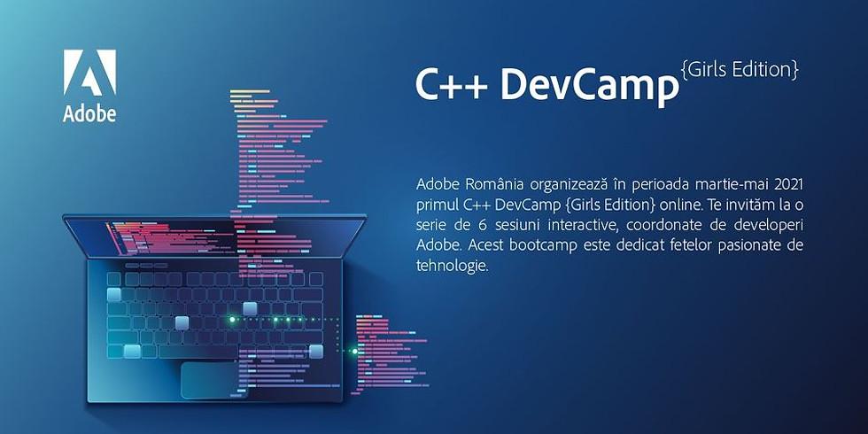 C++ DevCamp {Girls Edition}