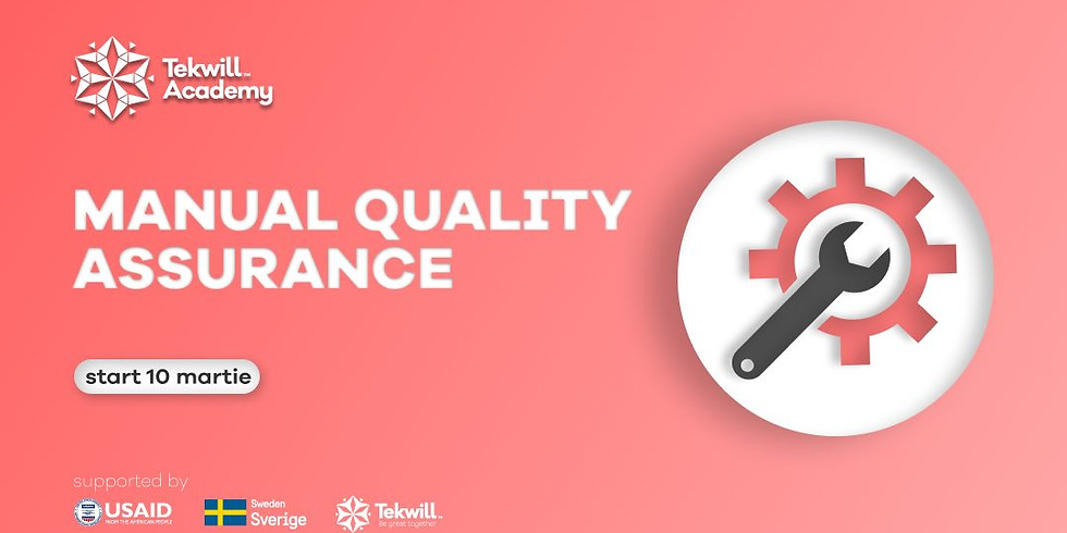 MANUAL QUALITY ASSURANCE COURSE