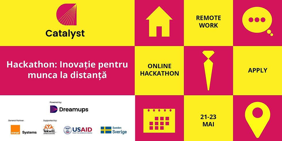 Hackathon: Inovație pentru munca la distanță