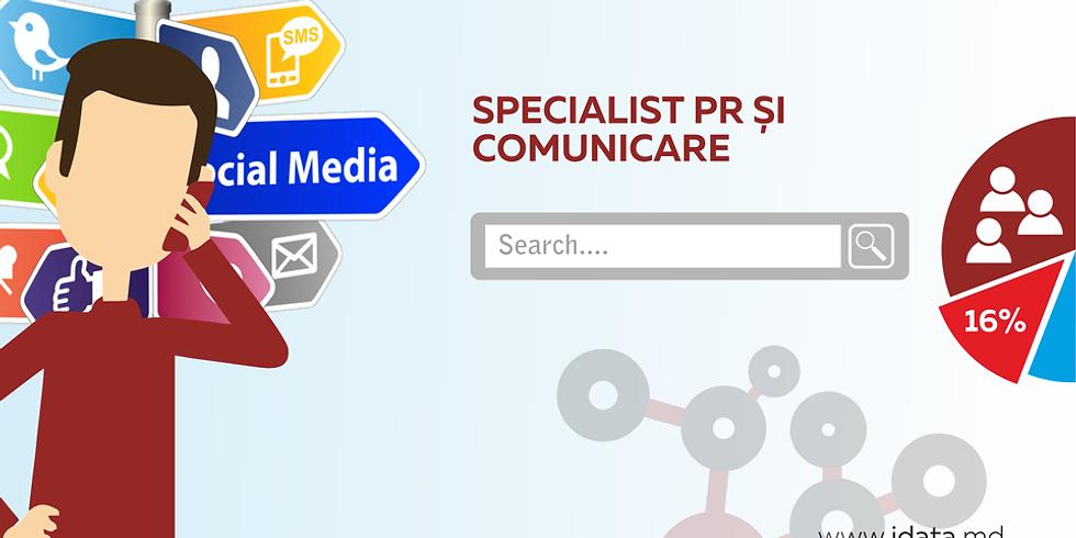 Specialist PR și Comunicare