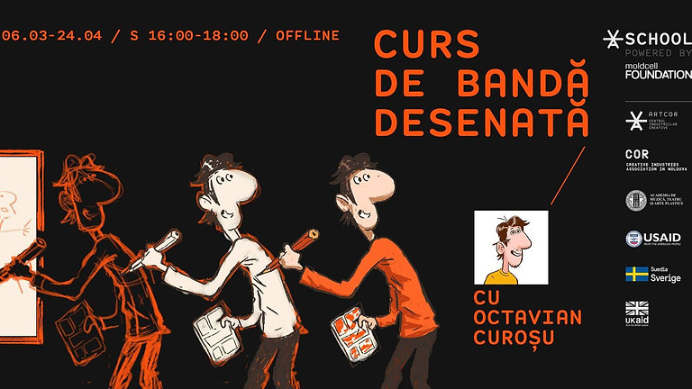 Curs de Bandă Desenată cu Octavian Curoșu