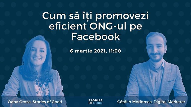 Cum să îți promovezi eficient ONG-ul pe Facebook?