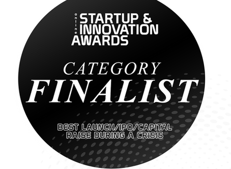 NeedleCalm named finalist at the inaugural Online Startup & Innovation Awards