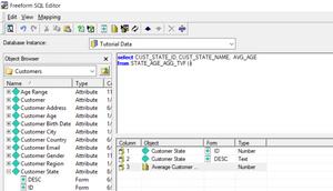 MicroStrategy Freeform SQL