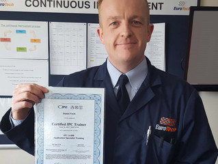 Setting the Quality Standard - Dan Qualifies as IPC Trainer
