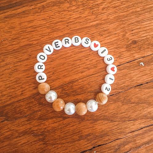 1 Tan + Pearl Bracelet